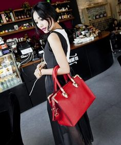 The new 2014 han edition fashion handbag shoulder inclined across big red bag bride wedding packages in lady fashion bags