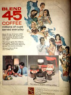 Vintage Comics, Vintage Ads, Commercial Ads, Childhood Days, Fun Cup, Coffee Drinkers, Pinoy, Filipino, Philippines