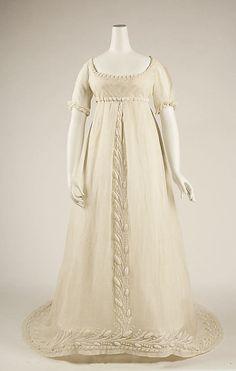 """      Dress      1804-1814      The Metropolitan Museum of Art """