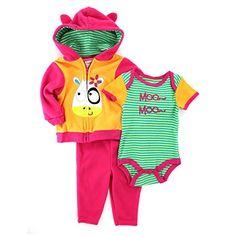 Nuby Baby 3 pc Outfit Fleece Hoodie Top Pants Set (12M, P... https://www.amazon.com/dp/B00WZVCAMS/ref=cm_sw_r_pi_dp_x_EC55ybXJ6DXAX