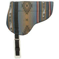 Herculon Bareback Pad with Tacky-Tack Bottom, Blue - Weaver Leather Equine Western Saddle Pads, Tack, Sling Backpack, Westerns, Backpacks, Belt, Detail, Leather, Accessories