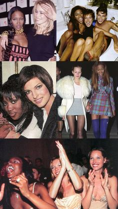 Their beautiful friendships with one another. | 51 Reasons Why Supermodels Were Better In The '90s
