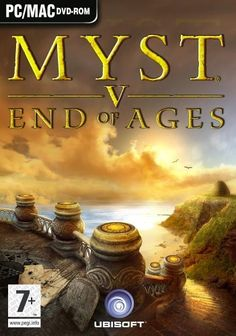 Love the Myst games! Myst V: End of Ages.