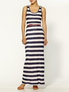 easy #maxi #dress for $79! Great for #summer time. Through a red necklace on it for the 4th of July!! Click to view product