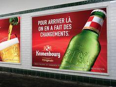LA SAGA KRONENBOURG CONTINUE AVEC LA CHOSE En juin 2014, aux côtés de son agence la chose, Kronenbourg nous a fait partager son point de vue singulier via une campagne de communication d'envergure et une nouvelle personnalité de marque incarnée par la signature : Kronenbourg l'Originale. Cette année encore, Kronenbourg continue de s'inscrire dans l'actualité via une campagne massive en presse et affichage. Info http://rp.lachose.fr/kronenbourg2015