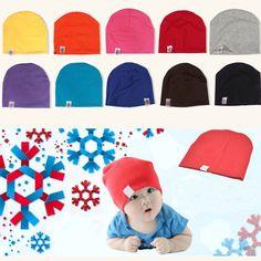 New Unisex Newborn Baby Boy Girl Toddler Infant Cotton Soft Cute Hat Cap Beanie Children Kids Boys Girls New Arrival Clothing