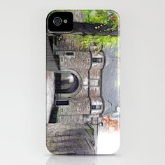 Dean Castle iPhone Case by F Photography and Digital Art - $35.00