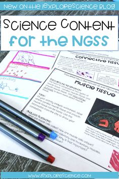 The NGSS means changes in your content - discover how your content may change and where to go to identify what you should be teaching (and what you can leave out) in your middle and high school science class. 7th Grade Science, Science Curriculum, Middle School Science, Science Classroom, Science Lessons, Teaching Science, Science Education, Life Science, Earth Science