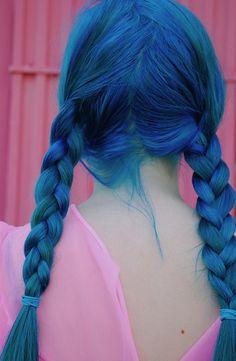 I believe my next girlfriend will have blue hair