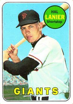 1969 Topps #316 Hal Lanier Front