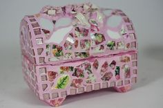 pink grout treasure chest