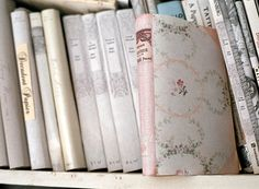 My Shabby Streamside Studio: My Shabby Book Covers