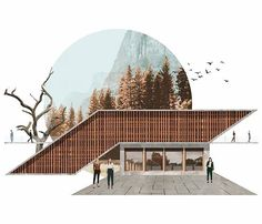 the the I # Kadıoğlu Kadıoğlu # # (@ furkankadioglu__) Furkan Kadıoglu ( Texture Architecture, Architecture Drawing Plan, Architecture Drawing Sketchbooks, Architecture Drawing Art, Architecture Graphics, Architecture Visualization, Japanese Architecture, Architecture Portfolio, Concept Architecture
