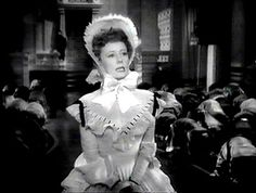 Irene Dunn in Anna and the King of Siam. 1946