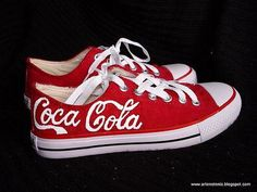 Coca Cola shoes!!! These are probably the only type of tennis shoe I would actually wear.