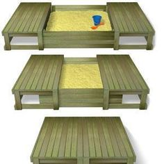 Desguise the sand box