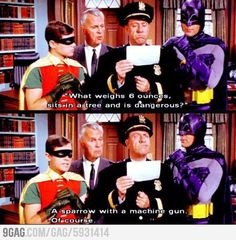 This is still the best Batman ever.  Just sayin'.  So funny!