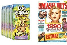 60 things we loved about the nineties, from Spice Girls photos to Vice Versa chocolates, Skorts and hair mascara. Hair Mascara, Football Casuals, Spice Girls, Girl Photos, Madonna, Nostalgia, Stylists, Baseball Cards, Humor