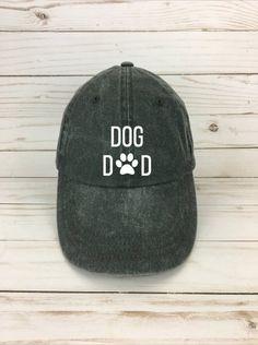 cd4199bfa49 Dog dad hat - dog lover hat - animal lover hat