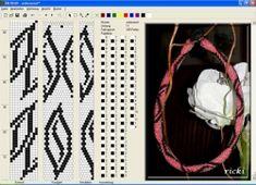 11 around bead crochet rope pattern Bead Crochet Patterns, Seed Bead Patterns, Bead Crochet Rope, Beaded Jewelry Patterns, Peyote Patterns, Crochet Chart, Crochet Designs, Beading Patterns, Beaded Crochet