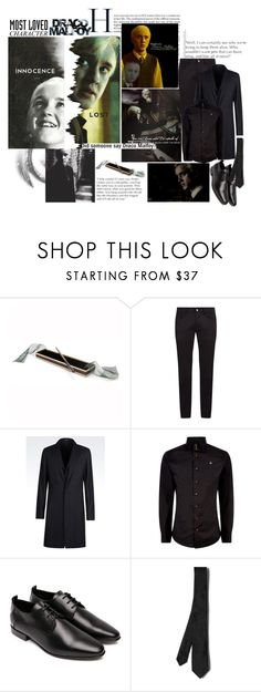 """""""Most Loved Character: Draco Malfoy (Harry Potter)"""" by deepalika-deb ❤ liked on Polyvore featuring Dolce&Gabbana, Emporio Armani, Vivienne Westwood, COSTUME NATIONAL, Valentino, men's fashion, menswear, harrypotter, contestentry and MostLovedCharacter"""