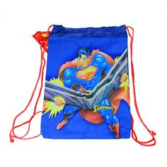 Superman Cinch Bag and Earbuds Combo  $34.99 Retail Price  $10.00 Our Price  Only at nomorerack.com #deals