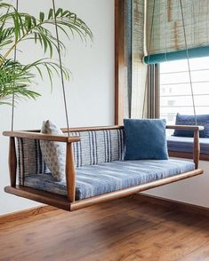 The Teak Wood Furniture in This Home Combines Traditional Purpose & Modern Lifes. - The Teak Wood Furniture in This Home Combines Traditional Purpose & Modern Lifestyle Source by - Indian Home Interior, Indian Interiors, Diy Interior, Home Interior Design, Interior Doors, Wood Interiors, Modern Interior, Modern Decor, Interior Decorating
