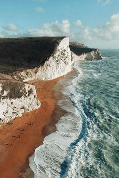 Durdle Door, Jurassic Coast, Dorset, England.