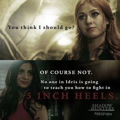 Clary et isabelle Shadowhunters Tv Series, Shadowhunters The Mortal Instruments, Immortal Instruments, Fangirl, Clary And Jace, Clary Fray, Cassie Clare, Cassandra Clare Books, The Dark Artifices