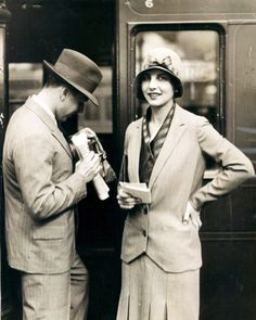 Traveling in the 1920s