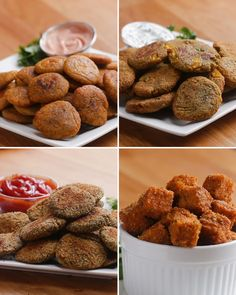 Healthy Veggie Nuggets 4 Ways by Tasty
