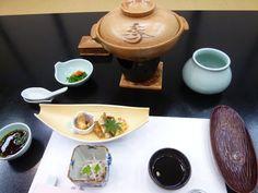 "Cena, Camera di ""Shunpanro""(Hotel), Shimonoseki Yamaguchi Japan, Ottobre"