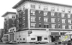Remembering the Days of the Handshake Lease. Pictured: Hotel Johnson - Circa 1955