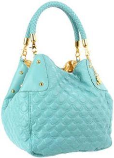 BIG BUDDHA Ariel Shoulder Bag  ===============================  Available in 3 Beautiful Colors: ......... Teal ........... Black ........... Hot Pink.