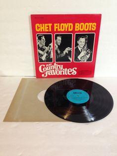 Chet Atkins Floyd Cramer Boots Randolph Play Country Favorites Vintage Vinyl Record Album lp 1968 RCA Camden Records CCS 135 by NostalgiaRocks