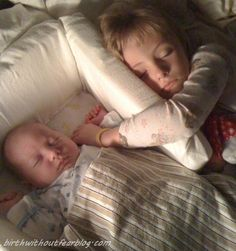 Co-sleeping.... done for generations across many cultures.     Great article!          'sleepy siblings'