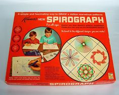 """""""SPIROGRAPH"""". Maybe you didn't have one, but most used one.."""