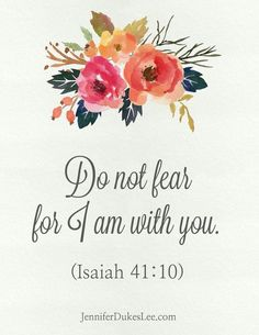 I am praying for His grace to move in you and take away all fear.