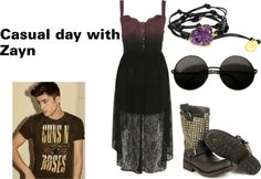 """""""Casual day with Zayn"""" by marylerman on Polyvore"""