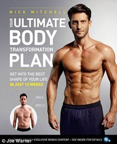 Your Ultimate Body Transformation Plan Get into the Best Shape of Your Life in Just 12 Weeks & - Body transformation plan, Transformation body, Body transformation men, Muscle fitness, How to plan - Muscle Fitness, Fitness Tips, Muscle Body, Fitness Motivation, Fitness Plan, Wellness Fitness, Fitness Goals, Mens Fitness, Health Fitness