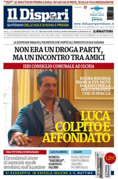 La copertina del 23 marzo 2016 #ischia #ildispari