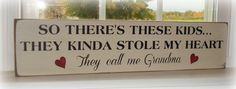 Wood Grandmother sign. Hand painted by primitivesignsforyou