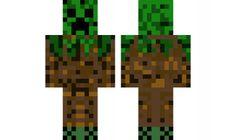 minecraft skin creeper-tree