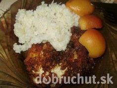 Fotorecept: Tatárske rezne Mashed Potatoes, Food To Make, Chicken Recipes, Grains, Rice, Meat, Ethnic Recipes, Whipped Potatoes, Smash Potatoes
