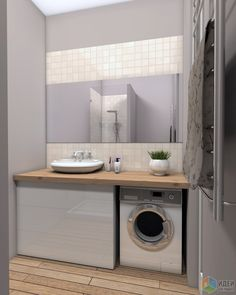 Small bathroom/laundry