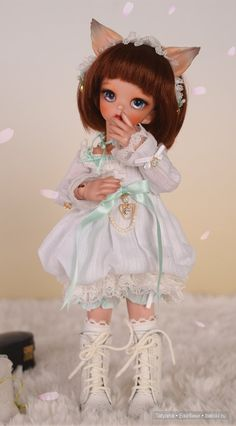 Shonki&Appini-Cotton Candy Dream от Dollsoom / BJD - шарнирные куклы БЖД / Бэйбики. Куклы фото. Одежда для кукол