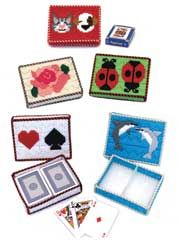 Plastic Canvas Gift Designs - Playing Card Cases