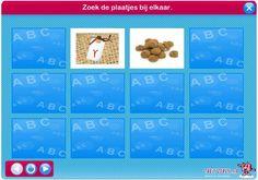 Sinterklaas - lettermemory / Netwijs.nl - Maakt je wereldwijs