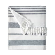 Fouta Beach Towel from Serena and Lilly. Perfect for the Hampton Classic or Florida.