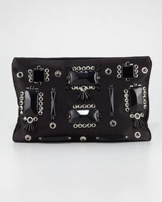 prada nylon tote - AUTH PRADA Black Satin Raso Frame Gathered Evening Pochette Clutch ...